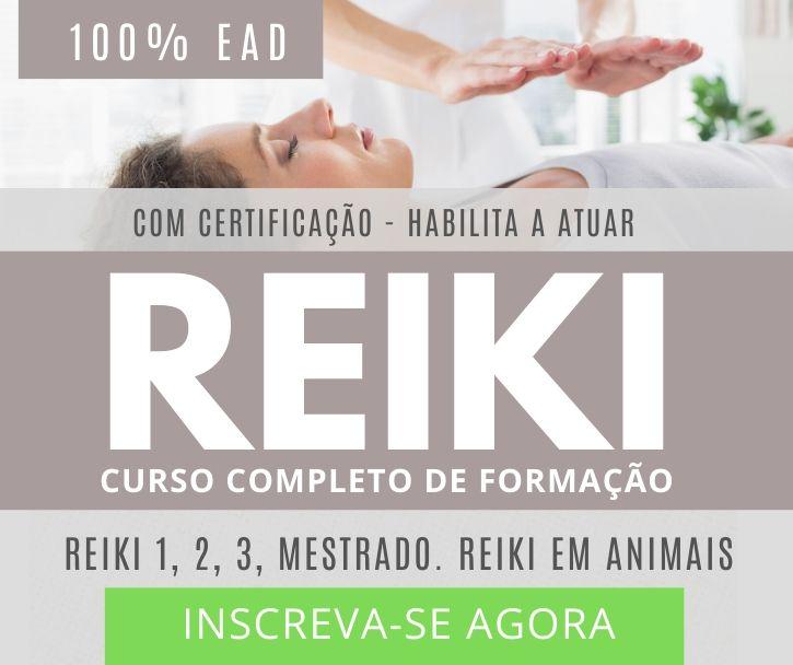 curso de reiki instituto reikiano banner de divulgação