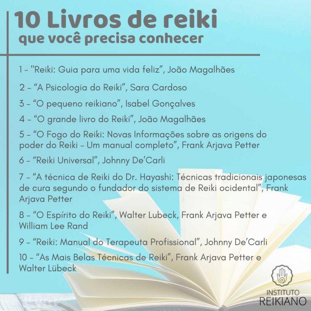 livros sobre reiki