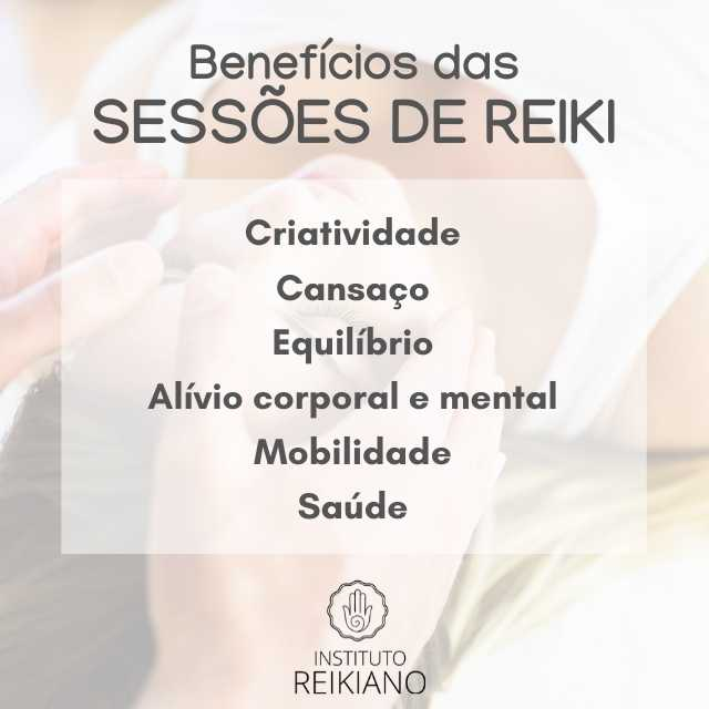sessões de reiki, benefícios de uma sessão de reiki